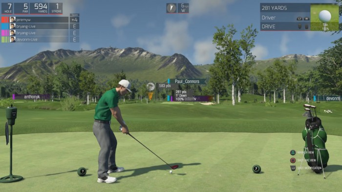 DEV DIARY – THE GOLF CLUB TOURS AND TOURNAMENTS