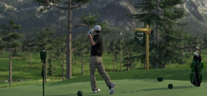 SCREENSHOTS FROM THE GOLF CLUB