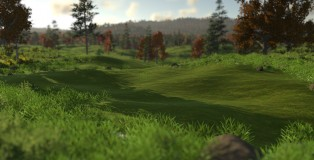 The Golf Club - Flattening the Land