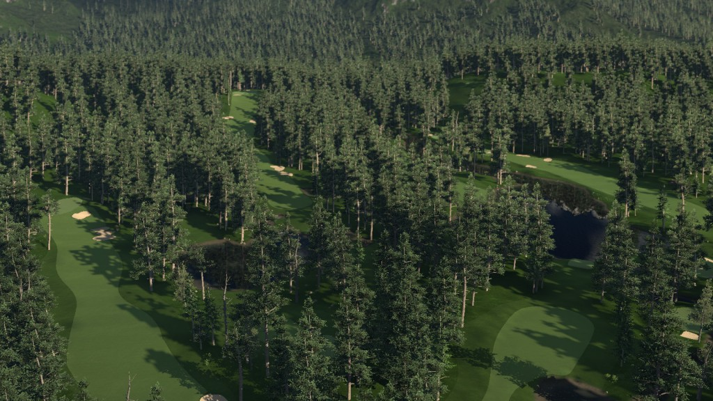 The Golf Club Alpine Theme