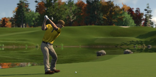 THE GOLF CLUB'S REPLAY SYSTEM