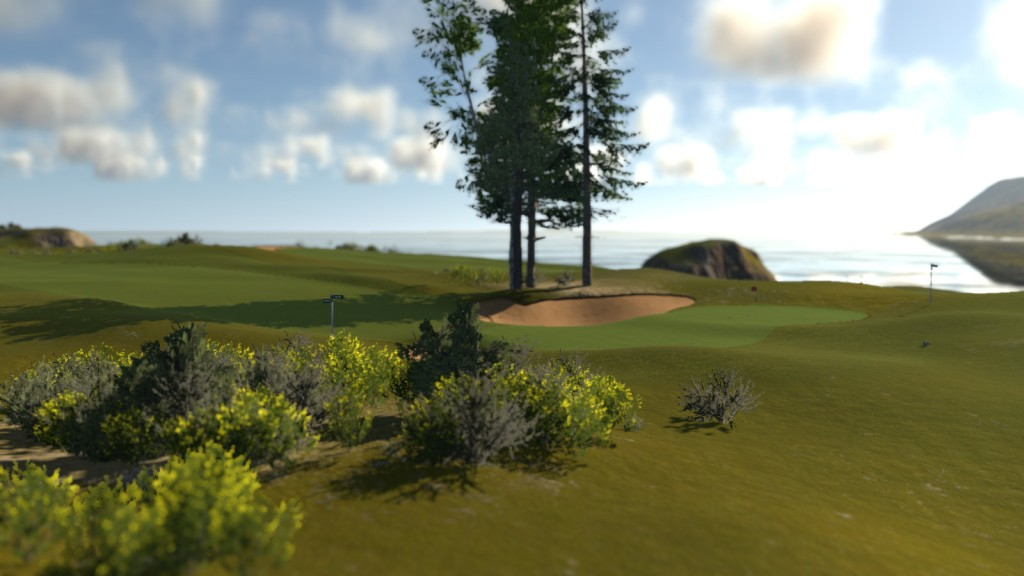The Golf Club Links Theme Screenshot