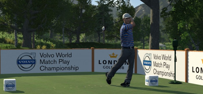 OFFICIAL VIDEO GAME OF VOLVO WORLD MATCH PLAY CHAMPIONSHIP
