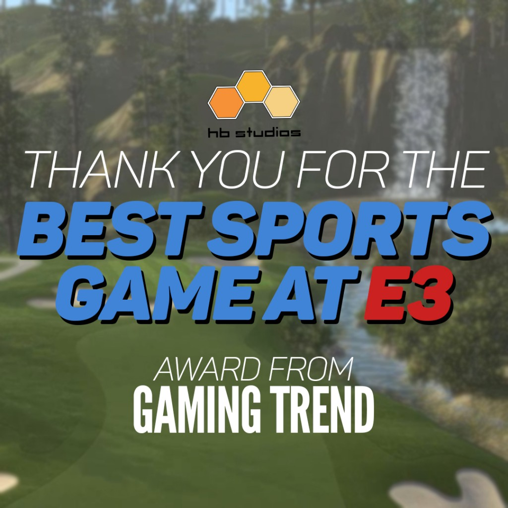 TGC Best of E3 award